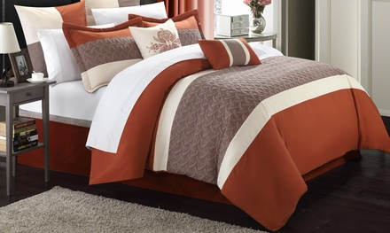 Jace Comforter Set (8-Piece)