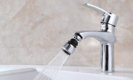 1, 2 o 3 cabezales giratorios para grifos de cocina o ducha