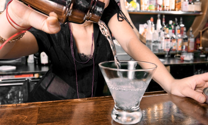 Fine Art Bartending School - Central City: Four-Hour Introduction to Bartending Course for One or Two at Fine Art Bartending School (Up to 62% Off)