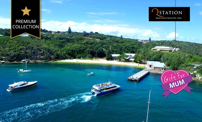 Manly: 1 or 2 Nights for Two with Breakfast, Wine and Late Check-Out at Q Station Sydney Harbour National Park