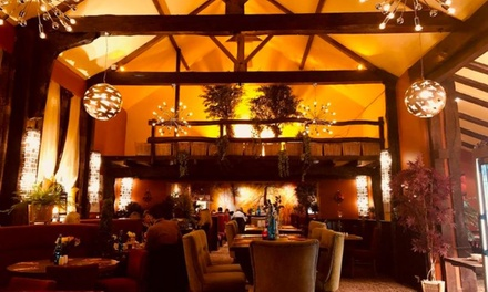 Two or ThreeCourse Meal with Drinks for Two or Four at The Green Man Rackheath