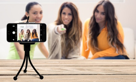 Bluetooth Selfie Remote & Tripod-FEb