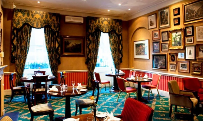 Afternoon Tea with Optional Glass of Bubbly for Two or Four at Leonard Hotel