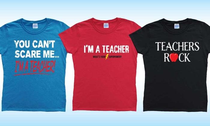 Women's Teacher Tees