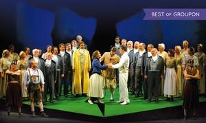 StuttgartKonzert Veranstaltungs GmbH: 2x Die Zauberflöte - Oper von Wolfgang Amadeus Mozart am So., 12. März um 16 Uhr in der Liederhalle (bis zu 39% sparen)