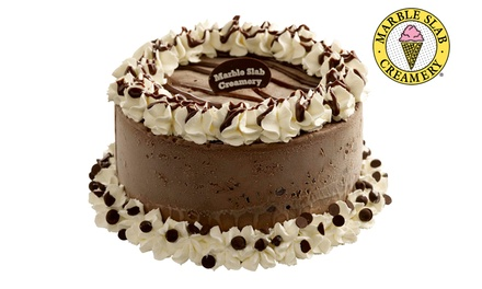 $45.90 for a 1Kg Ice Cream Cake from Marble Slab Creamery (worth $59.90), at 6 Outlets. More Options Available