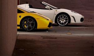 Hccsportcars: Experiencia de conducción en un Ferrari F-430 Spider, Lamborghini Gallardo, Porsche 911 Carrera o Corvette C-6 desde 29€