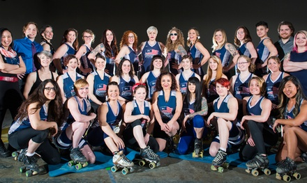 General Admission for One, Two, or Five to Boston Derby Dames (Up to 50% Off)