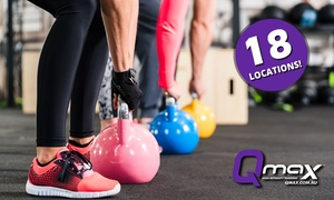 QMax: $12 for Three-Week Unlimited Functional Group Training Class Pass at QMax, 18 Locations (Up to $120 Value)