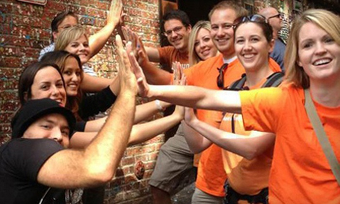 Urban Goose Chase - Baltimore: $46 for Registration for a Team of Up to Six in the Urban Goose Chase Scavenger Hunt on Saturday, August 24 ($99 Value)