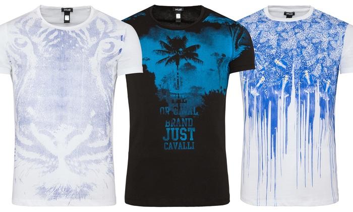 Groupon Goods Global GmbH: T-Shirt da uomo Just Cavalli disponibile in varie  taglie ...