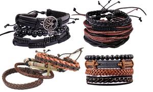 Bracelet hommes 4 pièces