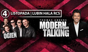 Thomas Anders & Modern Talking Band: 109 zł: bilet dla 1 osoby na koncert Thomasa Andersa & Modern Talking Band (zamiast 139 zł)