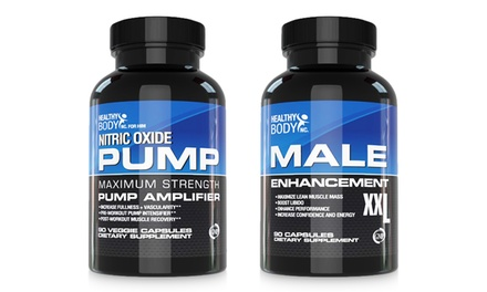 Healthy Body Nitric Oxide Pump and Male Enhancement XXL Supplements