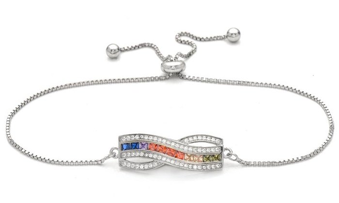 bbfe82030 Up To 72% Off on Lexi Li Sterling Silver Bracelet | Groupon Goods