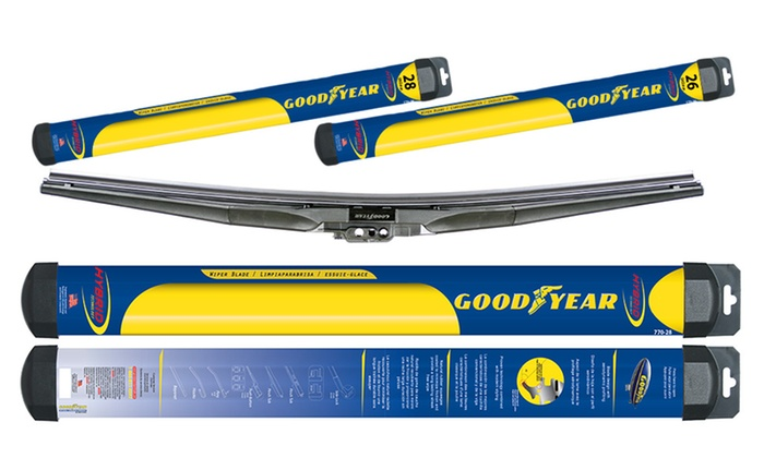 Goodyear Windshield Wipers >> Goodyear Hybrid Wiper Blade Groupon Goods