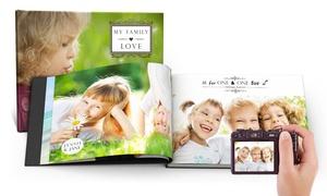 Printerpix: 1 ou 2 livres photo couverture rigide de 100 pages avec Printerpix dès 19,99 € (87% de réduction)