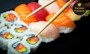 Oba Sushi Restaurante -  São José dos Campos: Rodízio japonês para 1 ou 2 pessoas no almoço ou jantar + petit gâteau no Sushi Oba Restaurante – Jardim Satélite