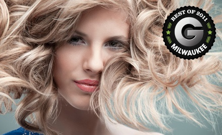 Haircut and Partial Highlights Package with a Junior Stylist  (a $97 value) - Salone in Milwaukee