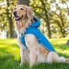 Eddie Bauer Heathered Hooded Wrap Coat for Dogs