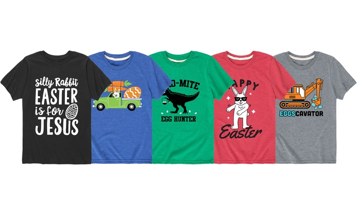 949176b27 Up To 57% Off on Kids Funny Easter Tee | Groupon Goods