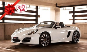 Unique Car Rentals (UCR): $249 to Rent a Porsche Carrera 997 II Cabrio Porsche Boxster 981 for One Day with Unique Car Rentals (Up to $600 Value)