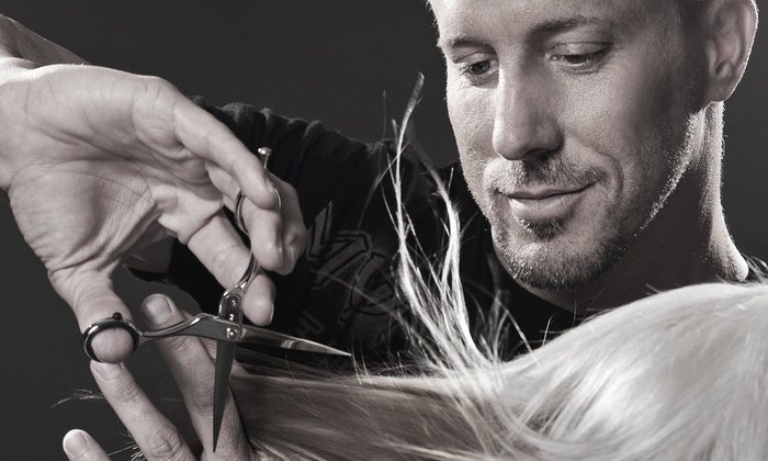 Patrick Lomantini at Mark Bell Salon - Mark Bell Salon: Haircut and Blowout with Optional Color and Brow Wax from Patrick Lomantini at Mark Bell Salon (Up to 67% Off)