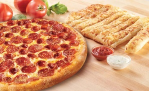 Marco's Pizza: One or Two Large 1-Topping Pizzas with Cheezybread at Marco's Pizza (49% Off)