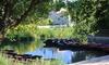 Embarcadère de la Venise Verte - Le Mazeau: Promenade en barque de 2h sans guide pour maximum 7 personnes à 19,90 € avec l'Embarcadère de la Venise Verte
