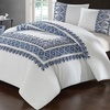 Oak Garden 100% Cotton Quilt or Comforter or Duvet Set (3-Piece)