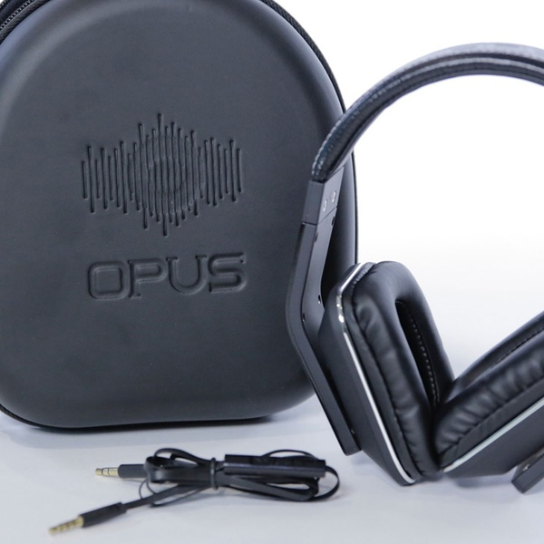 e3d97a804b3439 Opus-Sound Flux Noise-Isolating Over-Ear Headphones | Groupon