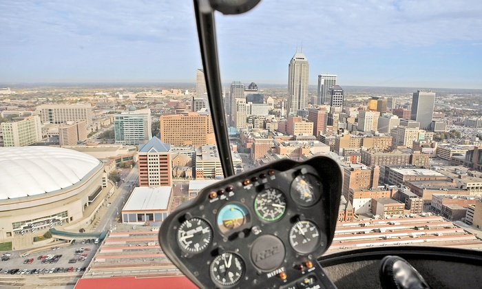 Freedom Helicopters - Fishers: Helicopter Flight Lesson or VIP Helicopter Tour from Freedom Helicopters (Up to 47% Off)