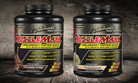 5lb. Tub of MuscleMaxx High-Energy Protein