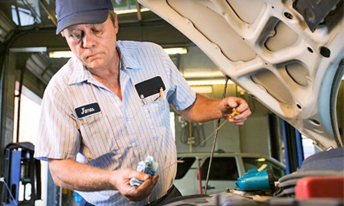 Ice Cold Air Discount Auto Repair - Multiple Locations: Conventional or Synthetic Oil Change, or $29 for $60 Worth of Auto Services at Ice Cold Air Discount Auto Repair