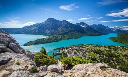 Lakeside Hotel in Canadian Rockies