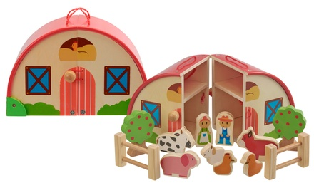 Wooden Farm Playset from My Play