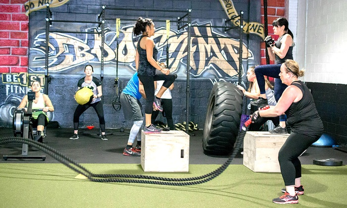 BE1ST Fitness - Westbury: Eight Small Group Boot-Camp Sessions or One Month of Unlimited Boot Camp Training at BE1ST Fitness (69% Off)