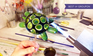 Monadnock Glass Arts: $199 for a 3-Hour Private Introductory Glass Blowing Class for Two at Monadnock Glass Arts ($398 Value)