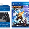 Sony DualShock 4 Controller and Ratchet & Clank Game Bundle for PS4