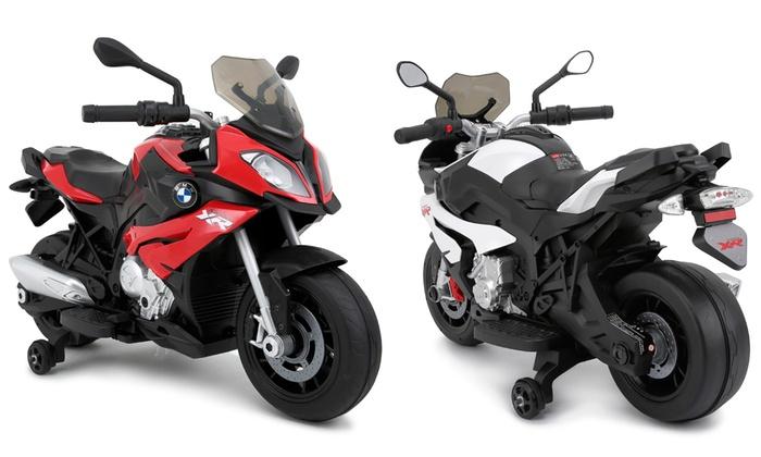 TitoloMoto elettrica Rastar BMW per bambini disponibile in 2 colori