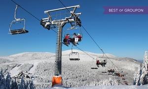 Ski Areál Červenohorské sedlo: Od 39,99 zł: całodzienny skipass wSki Areál Červenohorské Sedlo w Czechach (30 km od granicy)