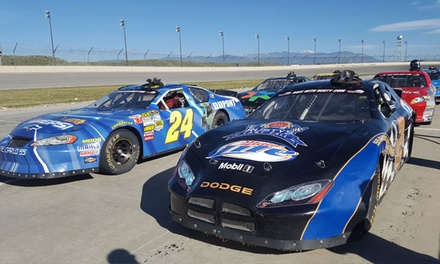Speedway Racing Experience at Rusty Wallace Racing Experience (Up to 60% Off). Four Options Available.