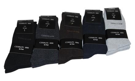 Pack de 18 ou 30 paires de chaussettes Cerruti dès 25,90 € (jusqu'à 73% de réduction)
