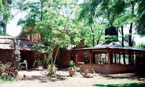 La Cabaña en Jofré: Desde $289 por día de campo: entrada + almuerzo completo + copa de vino para uno, dos o cuatro en La Cabaña en Jofré