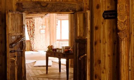 Valle d'Aosta, La Torretta Hotel 4*: fino a 7 notti con colazione, mezza pensione e spa opzionale per 1 persona