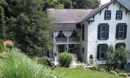 Stay for Two at The Briar Rose Bed and Breakfast in Reedsville, PA