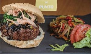 The Burger Lobby: Menú para 2 o 4 personas con hamburguesa clásica o gourmet, bebida y entrante o postre desde 19,95 € en The Burger Lobby