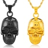 Men's Stainless Steel Skull Pendant Necklaces