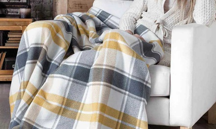 Cosy Soft Check Throws