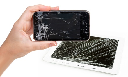Glass Screen Protection or Repair for iPhone or iPad at uBreakiFix (Up to 63%Off). Four Options Available.